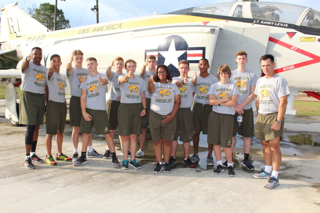 2016-11 Walker JROTC Cleans Phantom